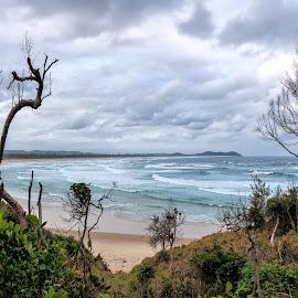 Broken Head beach by Cora Lea - Landscapes Waterscapes (  )