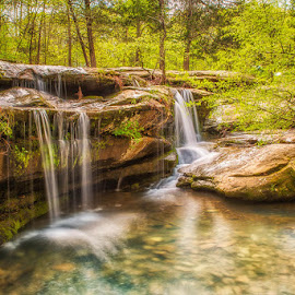 Burden Falls by Amy Ann - Landscapes Waterscapes (  )