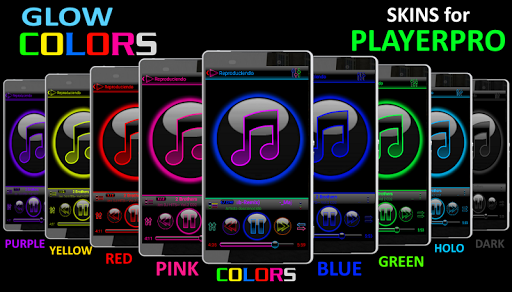 SKIN PLAYERPRO GLOW DARK BLACK - screenshot