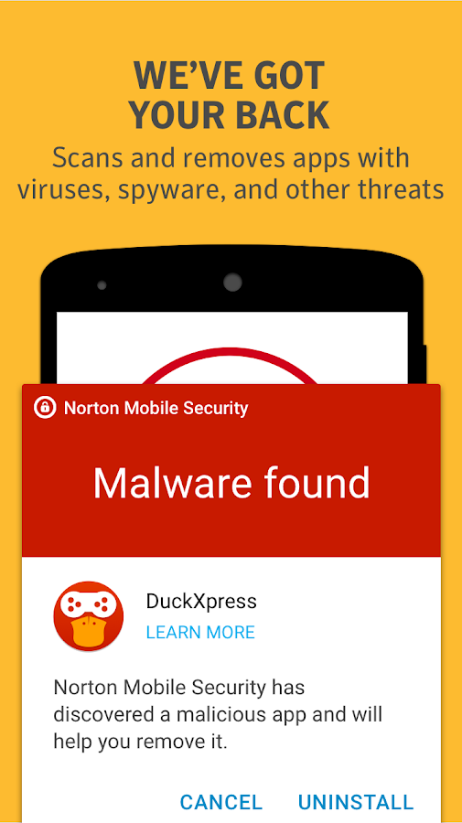 Norton Security and Antivirus Screenshot 4