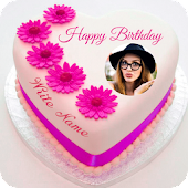 App Name Photo On Birthday Cake APK for Windows Phone
