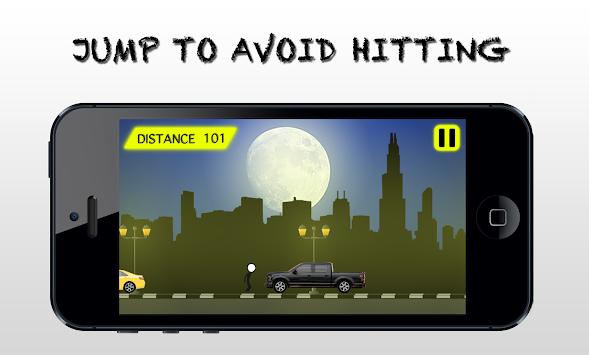 StickMan - Jump on Road apk screenshot