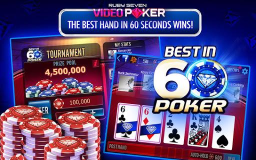 Ruby Seven Video Poker - screenshot