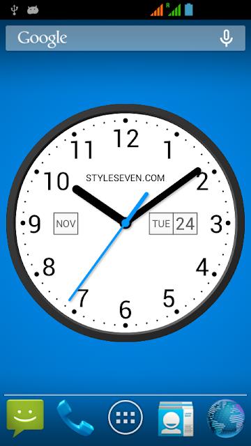 Light Analog Clock LW-7 screenshots