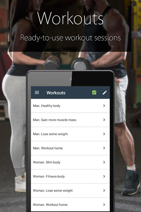 Fitness Coach FitProSport FULL Screenshot 3