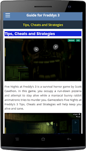 Top Guide 5 Night At Freddy - screenshot