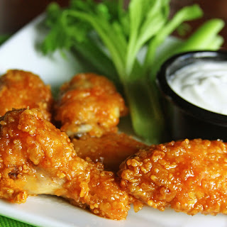 Our Version of Winger's Wings with Freakin' Amazing Sauce