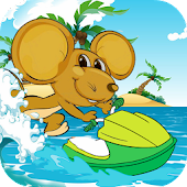 Download Android Game Talking Jerry Jetski for Samsung