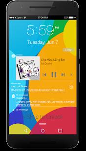 App Notification LockScreen OS 9.3 apk for kindle fire