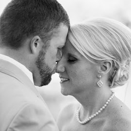 Romance by Kim Dyer - Wedding Bride & Groom ( wedding, just us, bride and groom )