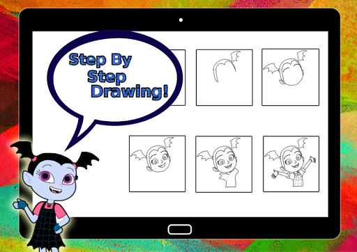 How To Draw Vampirina (vampirina games)
