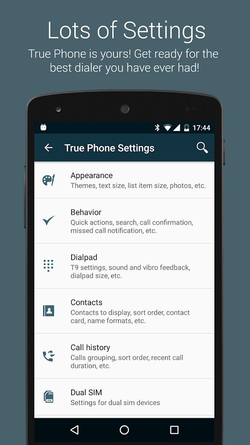 True Phone Dialer & Contacts Screenshot 7
