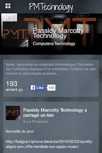 Passidy Marcotty Technology - screenshot