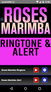 Roses Marimba Ringtone & Alert - screenshot