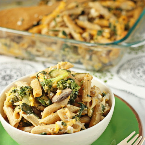 Vegetable-Filled Macaroni and Cheese