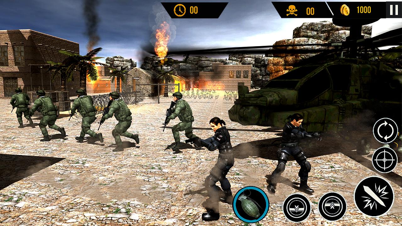 Army Commando Überlebenskrieg android spiele download