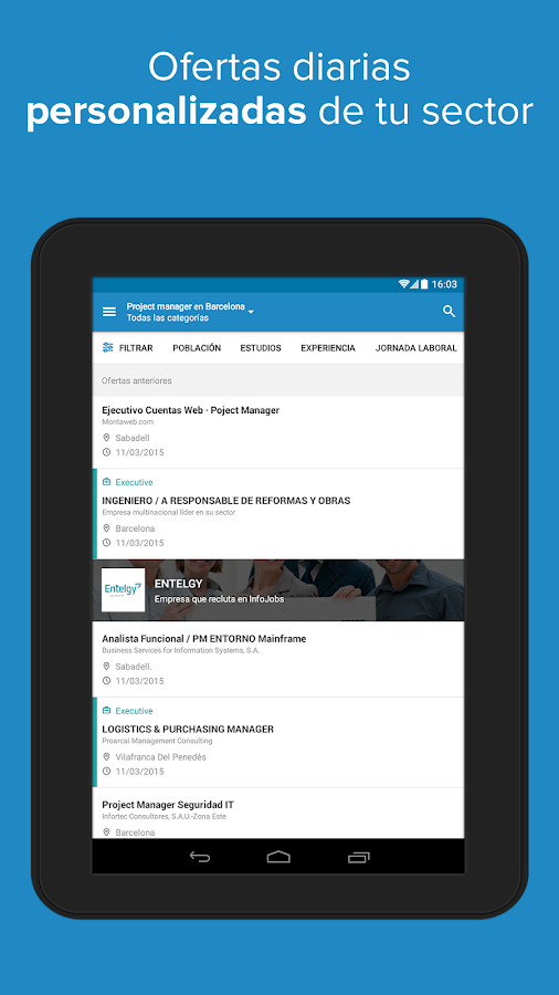 InfoJobs - Job Search Screenshot 10