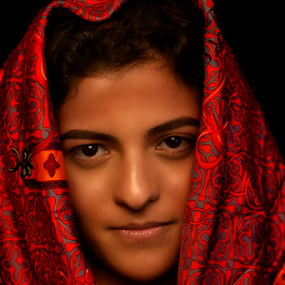 Saturated beauty by Rajha Tahir - People Portraits of Women