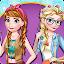 Modern Sisters Elsa and Anna