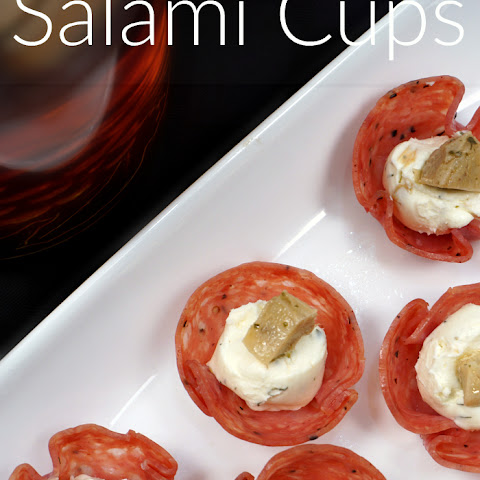 Salame Cups