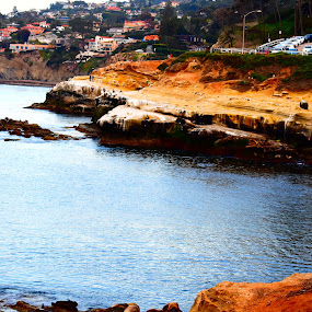 LaJolla Coves by Srivastav Reddy - Landscapes Beaches