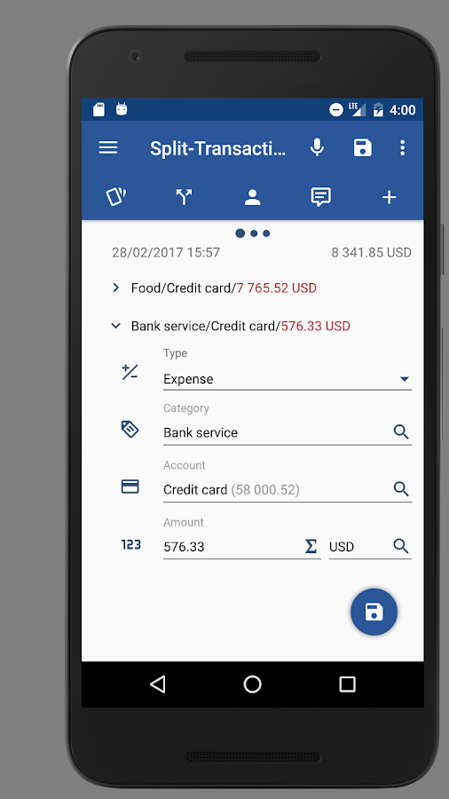 Handy Money - Expense Manager Screenshot 3