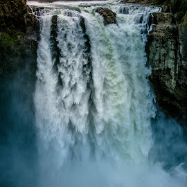 Snoqualmie Falls by Jerrid Ball - Landscapes Forests ( canon, water, forests, washington, mountains, fall, waterfall, canon photography, forest )