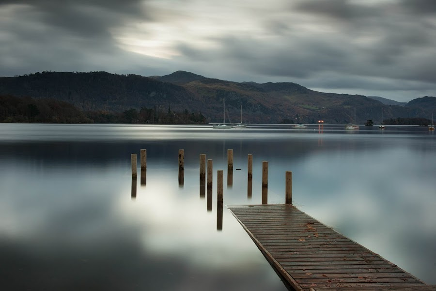 derwent calm by Alan Ranger - Landscapes Waterscapes