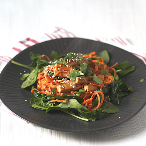Sweet Potato Noodles With Miso-tahini Dressing