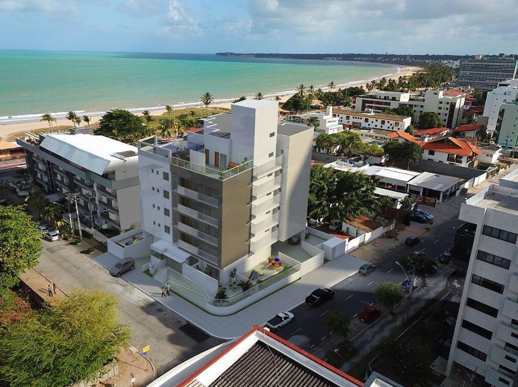 Apartamento com 3 dormitórios à venda, 84 m² por R$ 700.000 - Cabo Branco - João Pessoa/PB