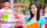 Online practice test - Free practice test - Practice exam