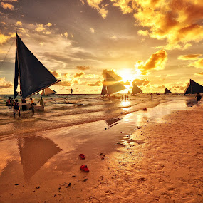 Boracay, Philippines by Abet Rhupert - Backgrounds Nature