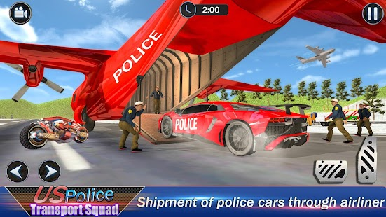 US Robot Police Transport Squad: Cargo Plane