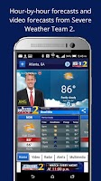 Screenshot of WSBTV Channel 2 Weather