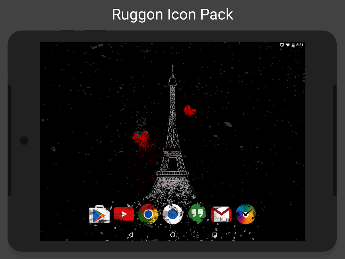 Ruggon - Icon Pack Screenshot 7