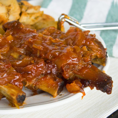 Sweet n' Sticky Pineapple Ribs