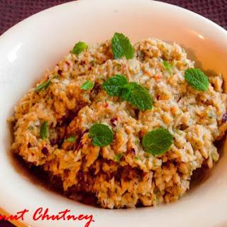 Coconut Chutney Tamarind Recipes