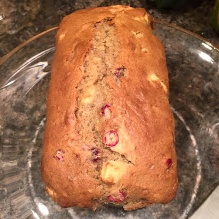 Cranberry Apple Banana Bread