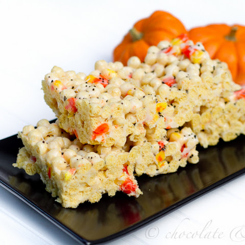 Candy Corn Kix Treats