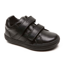 Geox Two Strap School Shoe SCHOOL SHOE