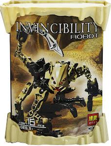 """Конструктор """"RoboBlock"""" Коричневый Воин S"""