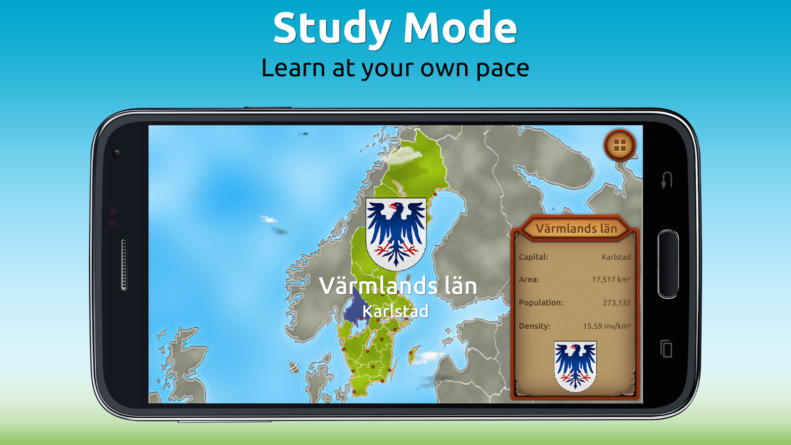 GeoExpert - Sweden Geography Screenshot 2