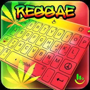 Reggae Cannabis Sativa Keyboard Theme For PC
