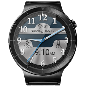 Brushed Chrome HD Watch Face