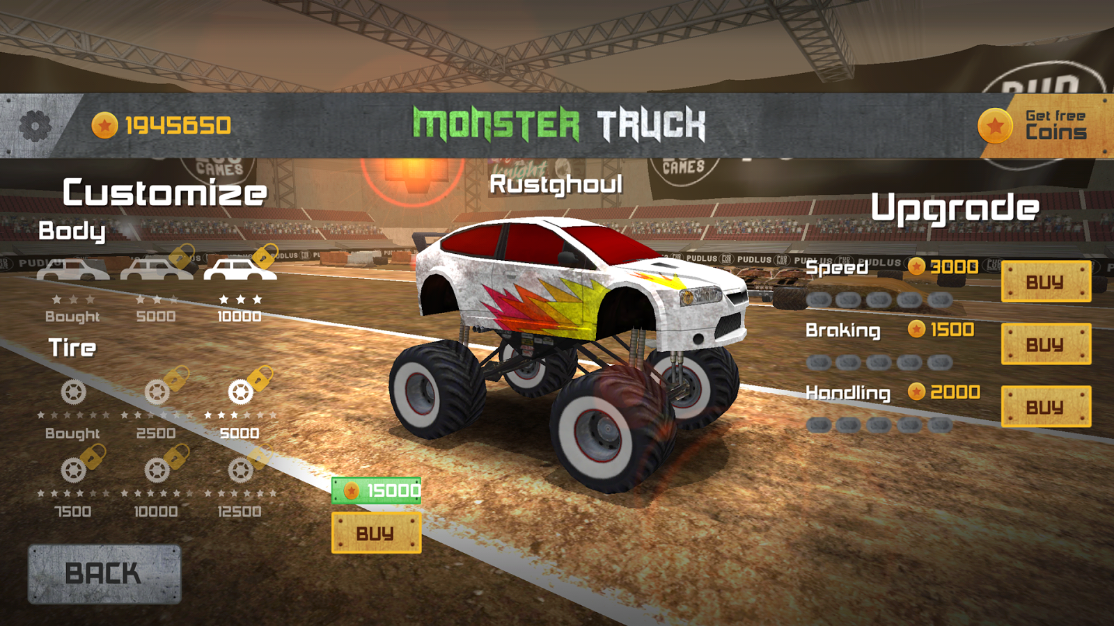 Monster Truck Race Screenshot 2