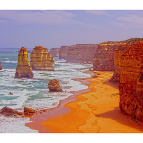 The 12 Apostles by Sassine El Nabbout - Landscapes Beaches ( australia, 12 apostles, landmark, travel )