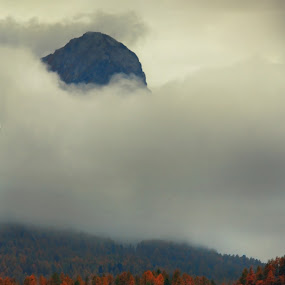 Above by Lilian Iatco - Landscapes Travel ( car, autumn, switzerland, cloudy, travel )