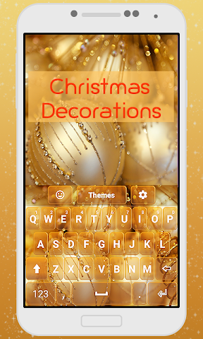 android Decorations Keyboard Theme Screenshot 0