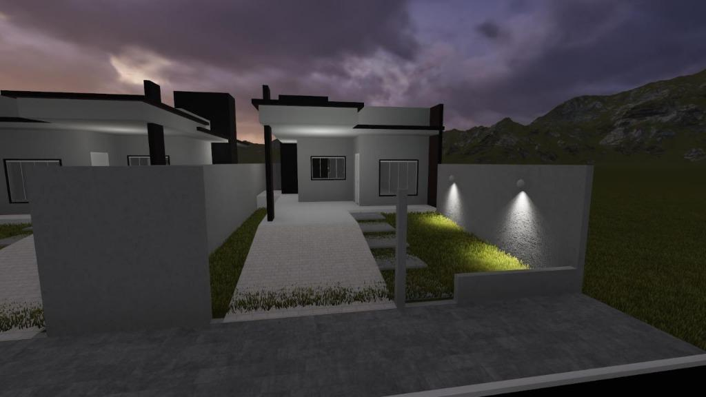 Casa com 2 dormitórios à venda, 64 m² por R$ 200.000 - Joaia - Tijucas/SC