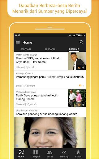 BaBe News - Berita Malaysia screenshot 1